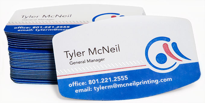 Business Cards from McNeil Printing