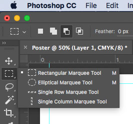 Photoshop Marquee Tool