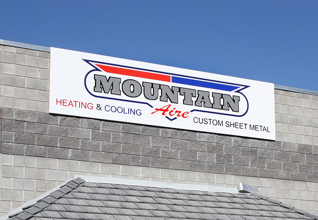 Exterior Sign from McNeil Printing in Orem Utah