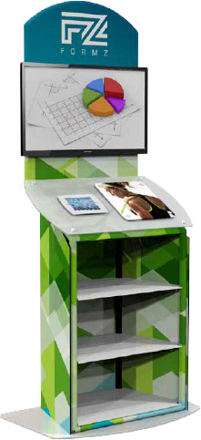 Kiosk Trade Show Stand from McNeil Printing